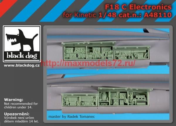 BDA48110   1/48 F-18 C electronic (thumb55383)