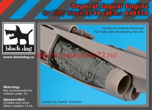 BDA48118   1/48 Sepecat Jaguar engine (thumb55447)