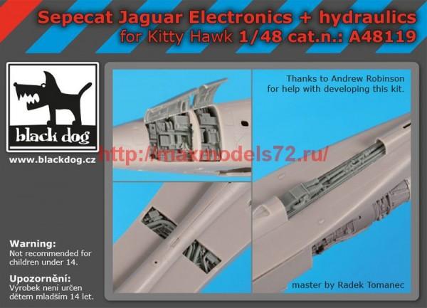 BDA48119   1/48 Sepecat Jaguar electronics+hydraulics (thumb55455)