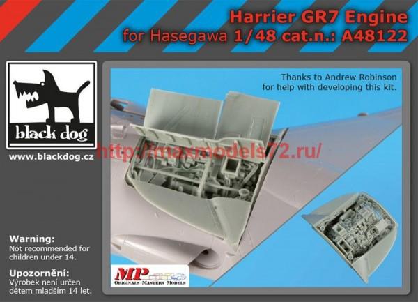 BDA48122   1/48 Harrier  GR 7 engine (thumb55482)