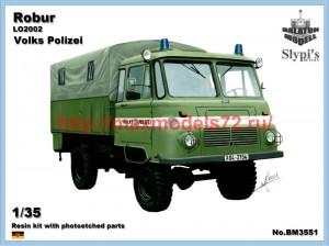 """BM3551   Robur LO 2002 """"Volks Polizei"""" (thumb50884)"""