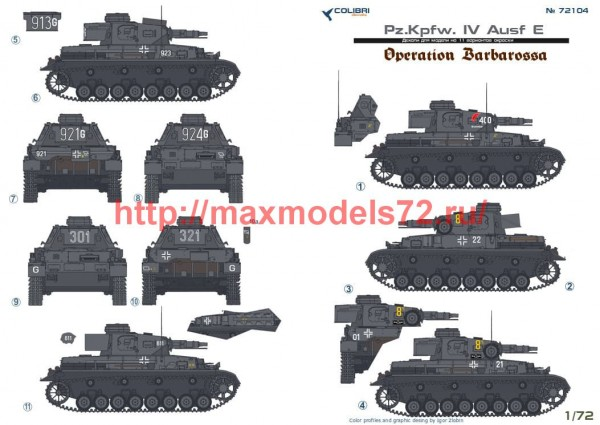 CD72104   Pz.Kpfw. IV Ausf.E   Operation Barbarossa (thumb51279)