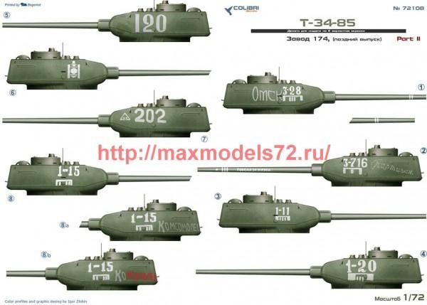 CD72108   T-34-85 factory 174. Part II (thumb51292)