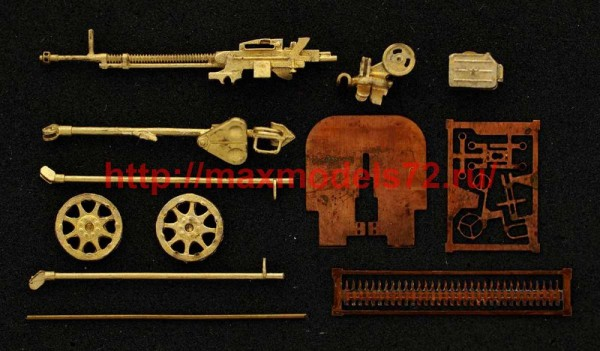MiniWА7220a   ДШКМ пулемёт,кал.12,7мм,на 2-х колёсном станке(СССР) (thumb51187)