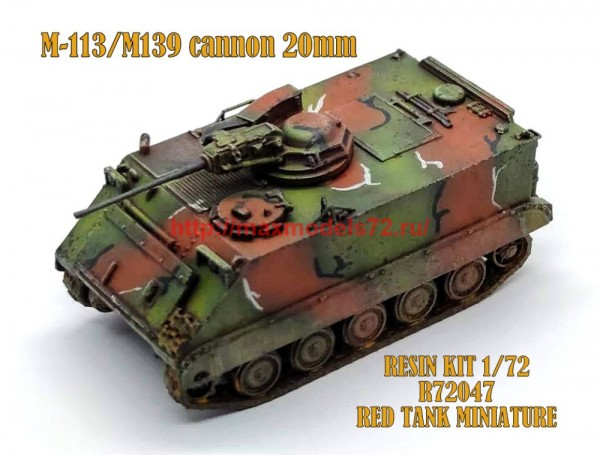 RTM72047   M113 with M139 cannon 20mm (thumb56584)