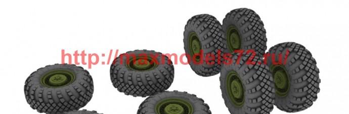 SGf72082 1:72 Комплект колес для МАЗ-543 (ВИ-203)               MAZ-543 wheels set (VI-203) (attach1 50821)