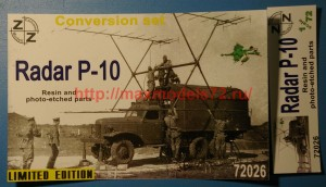 ZZ72026   P-10 Radar  conversion set (thumb52303)