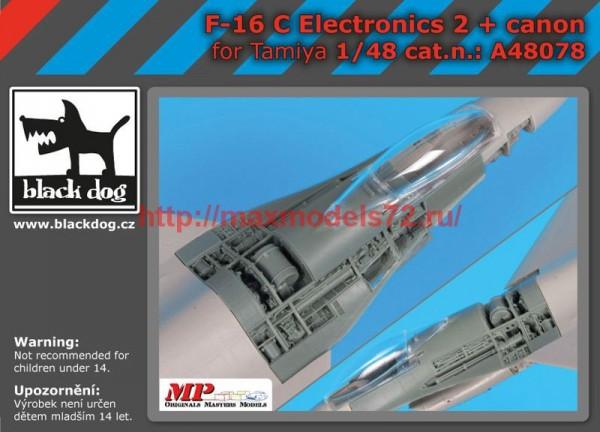 BDA48078   148 F-16  C electronics 2 +canon (thumb55139)