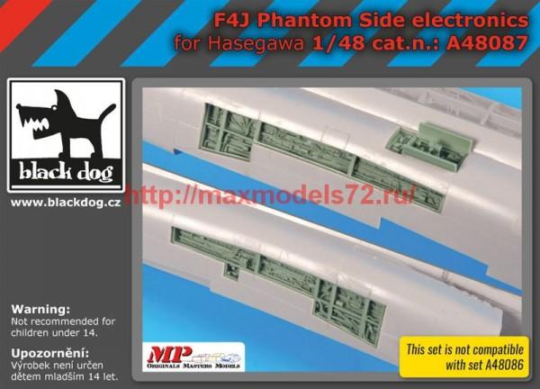 BDA48087   1/48 F4J Phantom side electronics (thumb55206)