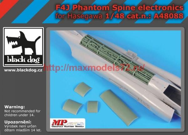 BDA48088   1/48 F4J Phantom spine electronics (thumb55213)