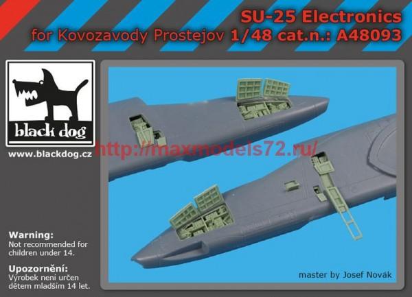 BDA48093   1/48 SU -25 electronics (thumb55252)