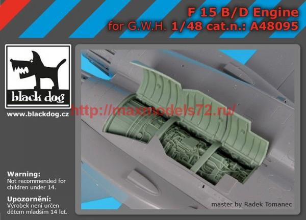BDA48095   1/48 F-15 B/D engine (thumb55266)