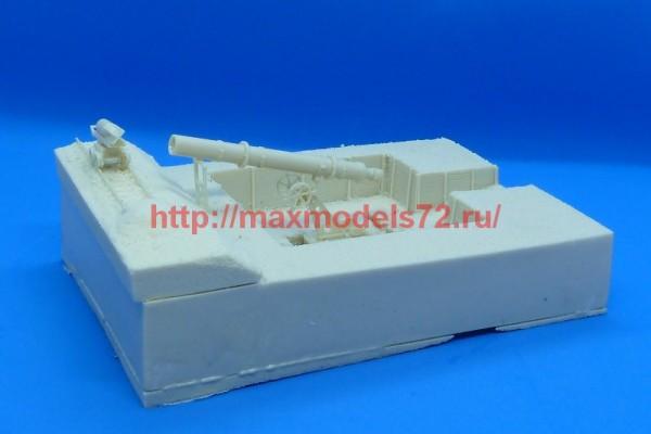 GBModelli72085 - BOMBARDA ITALIANA DA 400 MM con trincea e carrello con proiettile (thumb54483)