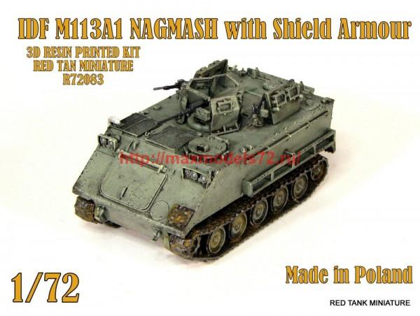 RTM72083   IDF M113A1 Nagmash with shield armor (thumb56994)
