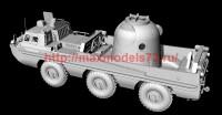AMinA133456   Советский трехосный полноприводный автомобиль (пассажирский и грузовой). Шнекороторный снегоболотоход. Посадочный модуль. (attach2 52126)