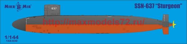 MMir144-030   SSN Sturgeon (thumb52177)