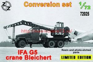 ZZ72025   IFA G5 crane Bleichert conversion set (thumb52309)