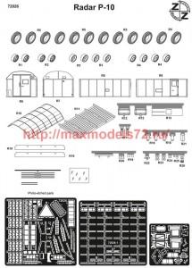 ZZ72026   P-10 Radar  conversion set (attach3 52303)