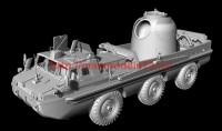 AMinA133456   Советский трехосный полноприводный автомобиль (пассажирский и грузовой). Шнекороторный снегоболотоход. Посадочный модуль. (attach1 52126)