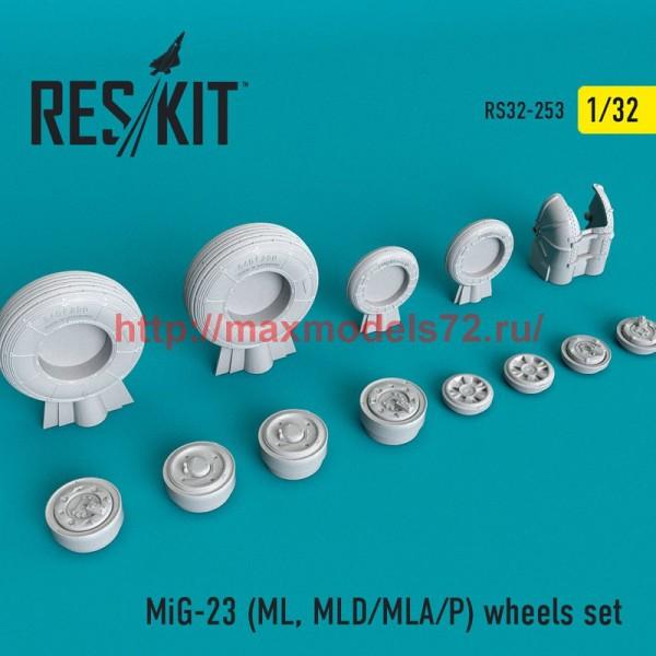 RS32-0253   MiG-23 (ML, MLD/MLA/P) wheels set (thumb51895)