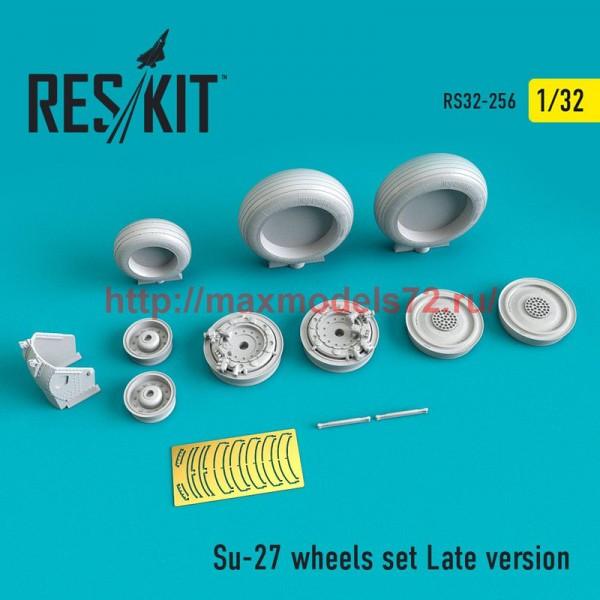 RS32-0256   Su-27 wheels set Late version (thumb51901)