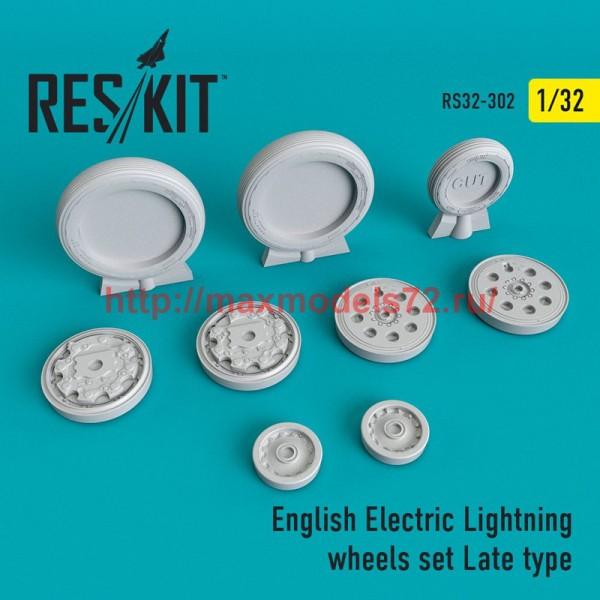 RS32-0302   English Electric Lightning Wheels set Late type (thumb51911)