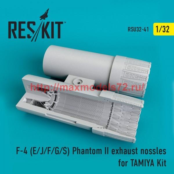 RSU32-0041   F-4 (E/J/F/G/S) Phantom II  exhaust nossles for TAMIYA Kit (thumb51943)