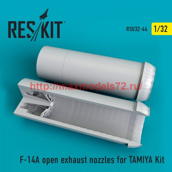 RSU32-0044   F-14A open exhaust nozzles for TAMIYA Kit (thumb51949)