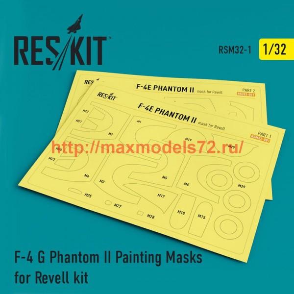RSM32-0001   F-4 G Phantom II Painting Masks for Revell  kit (thumb52510)