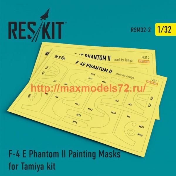 RSM32-0002   F-4 E Phantom II Painting Masks for Tamiya  kit (thumb52512)