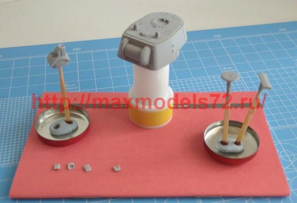 SGf72190 1:72 Башня КВ-1 установочной серии (круглая башня) (thumb52719)