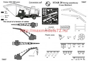 ZZ72027   STAR-20  crane Bleichert conversion set (attach1 52313)