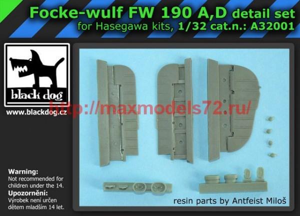 BDA32001   1/32 Focke-Wulf FW 190 A,D (thumb55511)