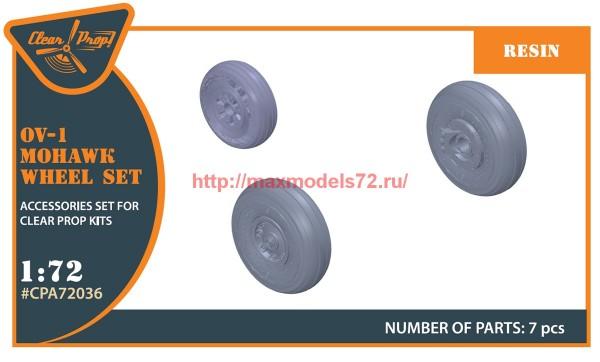 CPA72036   OV-1 A/B/C/D Mohawk  wheels set (thumb56432)
