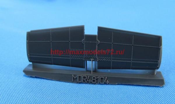 MDR48104   AH-64 Apache. Tail stabilizator early type (Hasegawa, Academy) (thumb56251)