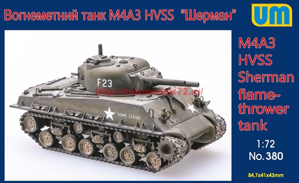 UM380   M4A3 HVSS flame thrower tank (thumb54471)