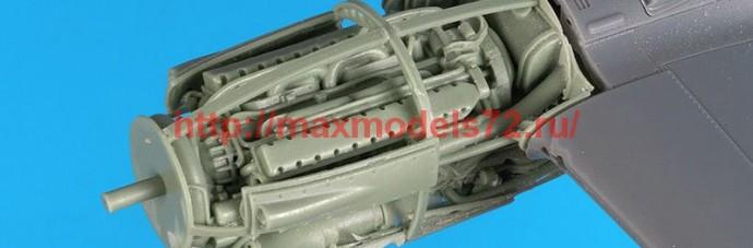 BDA48114   1/48P 38 F-G engine (attach1 55416)