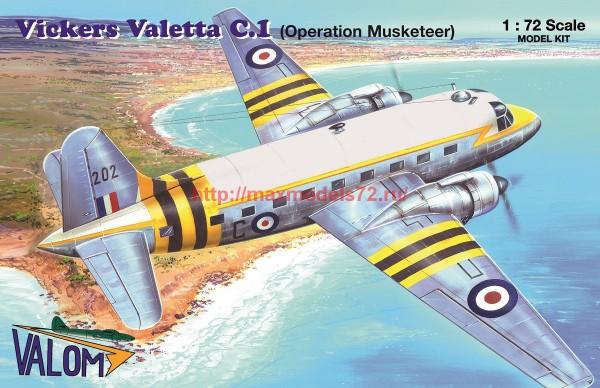 VM72150   Vickers Valetta C.1 (Operation Musketeer) (thumb55542)
