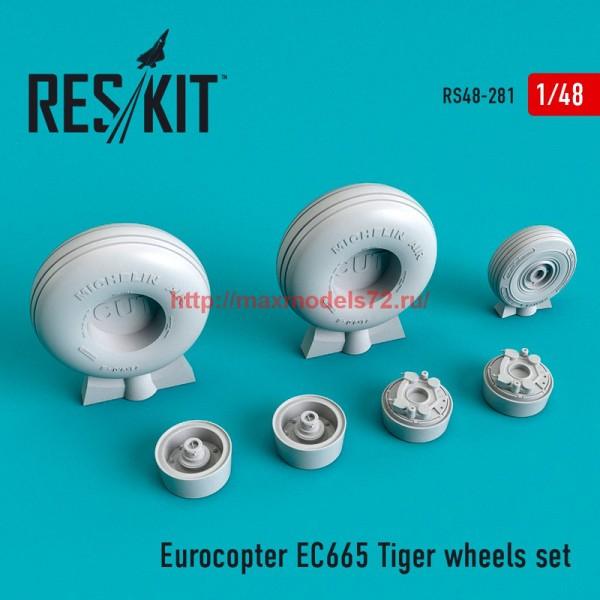RS48-0281   Eurocopter EC665 Tiger wheels set (thumb55761)