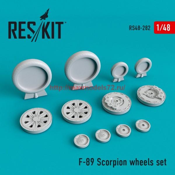 RS48-0282   F-89 Scorpion wheels set (thumb55763)