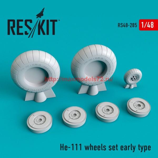 RS48-0285   He-111 wheels set early type (thumb55769)