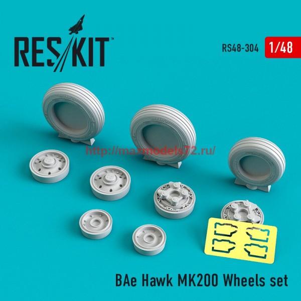 RS48-0304   BAe Hawk MK200 Wheels set (thumb55803)