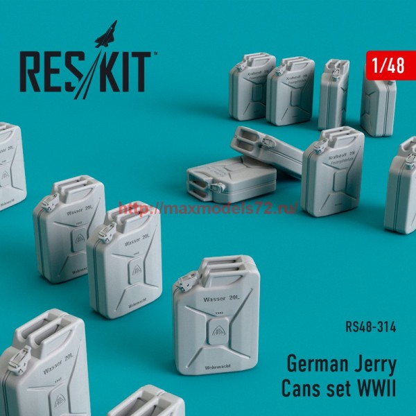RS48-0314   German Jerry Cans set WWII (16 pcs) (thumb55815)