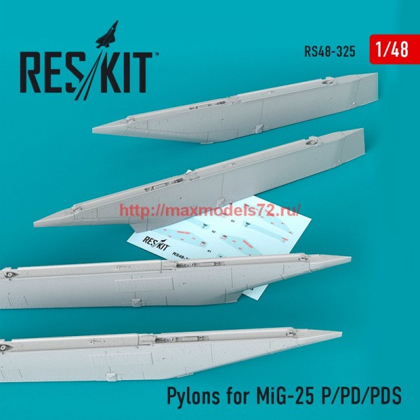 RS48-0325   Pylons for MiG-25  P/PD/PDS (thumb55817)