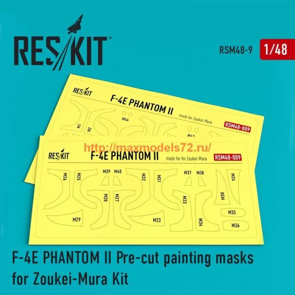 RSM48-0009   F-4 (E) Phantom II Pre-cut painting masks for Zoukei-Mura kit (thumb55859)