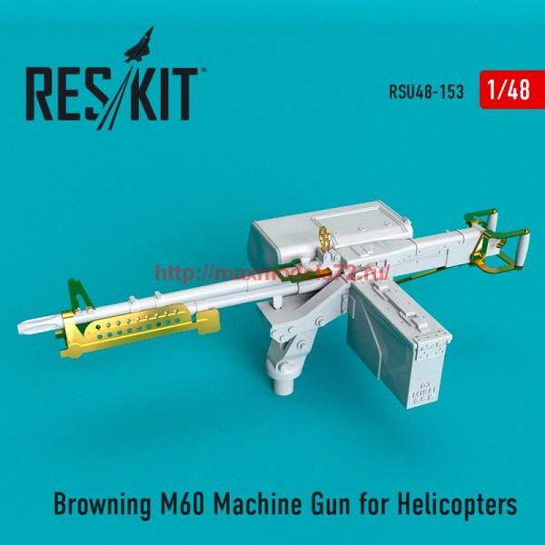 RSU48-0153   Browning M60 Machine Gun for Helicopters (thumb55833)