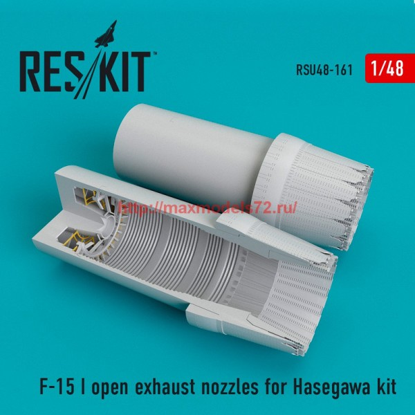 RSU48-0161   F-15 (I) open exhaust nozzles for Hasegawa Kit (thumb55849)